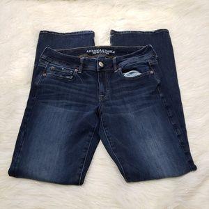 AEO Super Stretch Kick Boot Cut Jeans